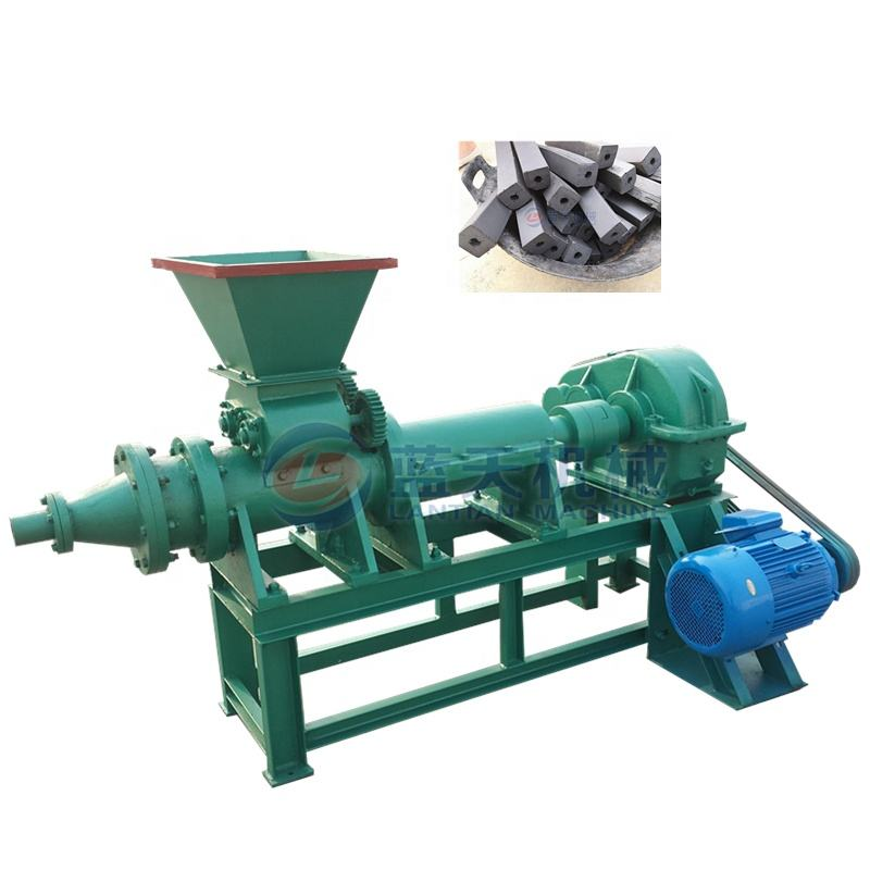 sugarcane bagasse sawdust briquette extruder charcoal making machine