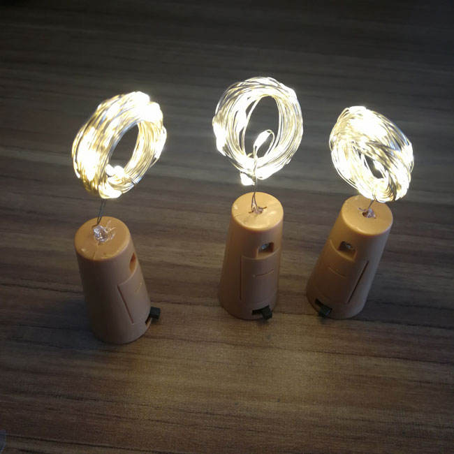 New Product Ideas LED Copper Wire Lighted Wine Bottle Stoppers For Party