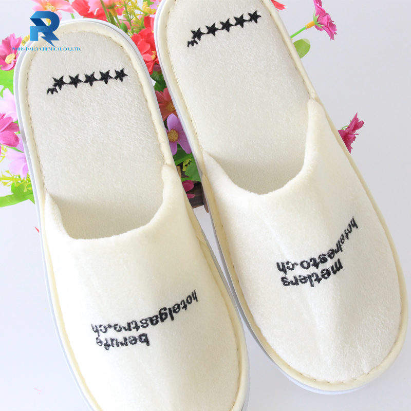 high quality wholesale 5 stars hotel indoor bathroom velvet slipper