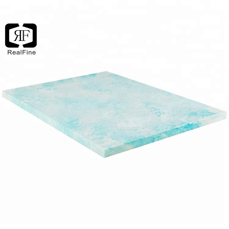 2/3/4/5/6 inch Single Double Queen King Gel infused Memory Foam cooling Bed Pad Mattress Topper
