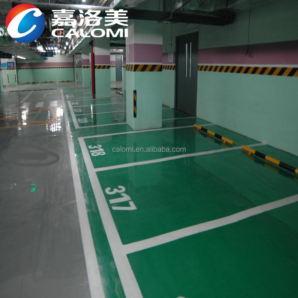 Garage High Gloss Car Parking Acrylic Industrial Epoxy Floor Paint Price