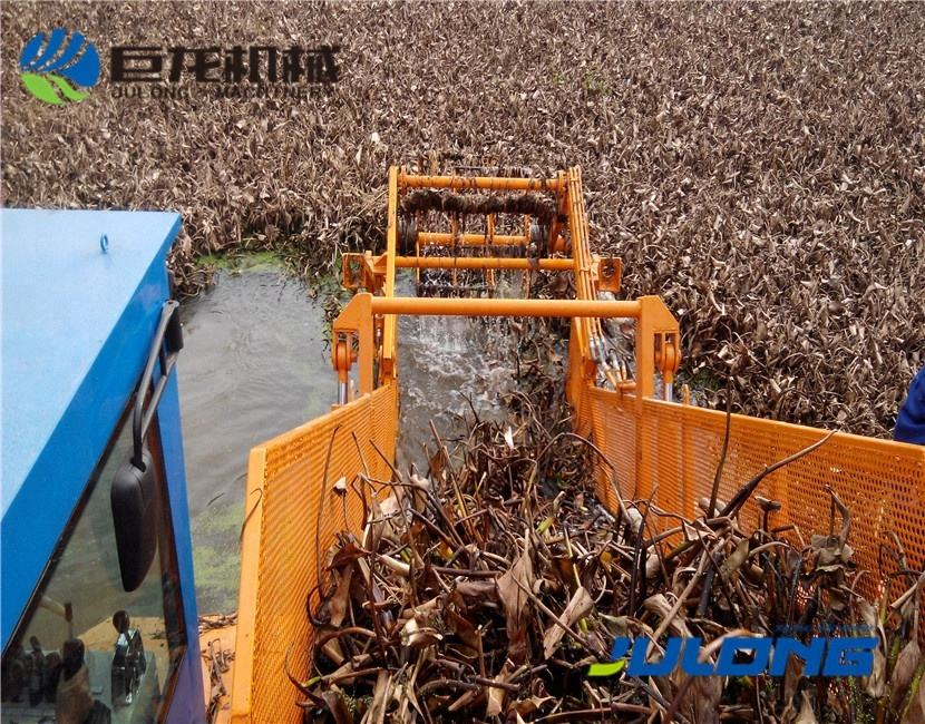 Water Weed Harvester Julong- Garbage Collection Boat/Water Weed Cutter Ship/Aquatic Weed Harvester For Hot Sale