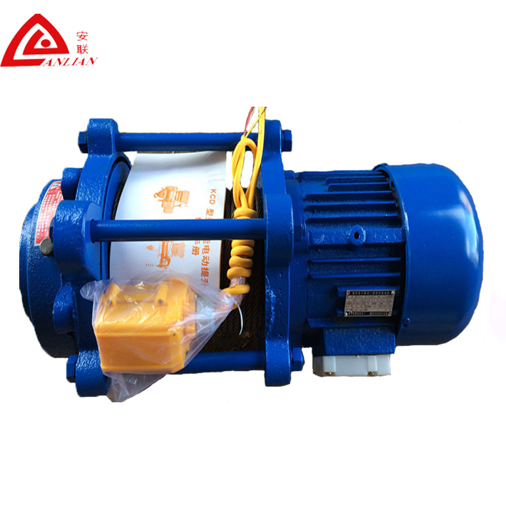 Cranes [ Winch Rope ] Winch Rope Small Size Electric Winch 380V/3 Phase Electric Wire Rope Hoist