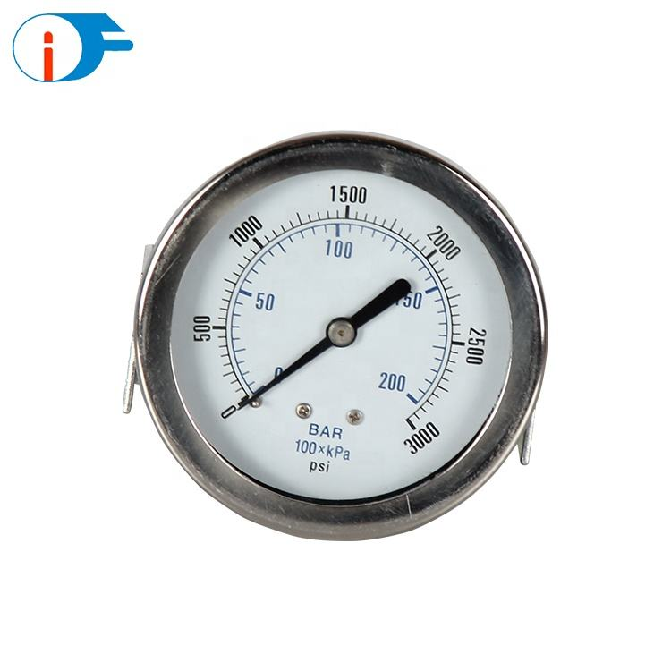 High Pressure Manometer lpg Pressure Gauge