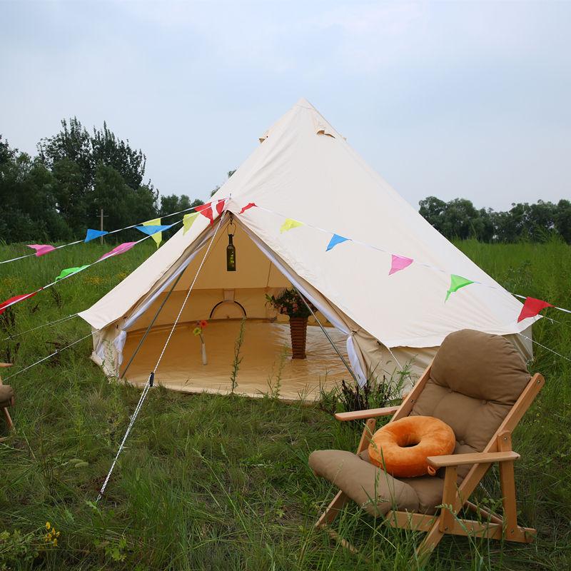 6 M campana lona <span class=keywords><strong>casa</strong></span> en forma de tiendas de campaña para acampar