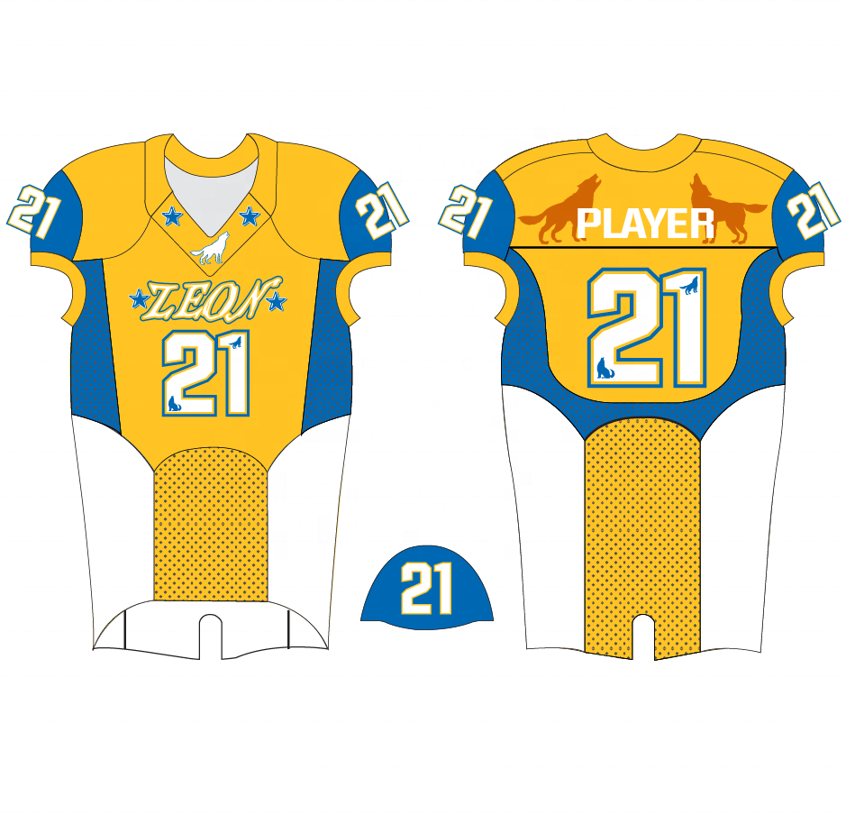 China Made Custom Sublimation Youth football jersey american