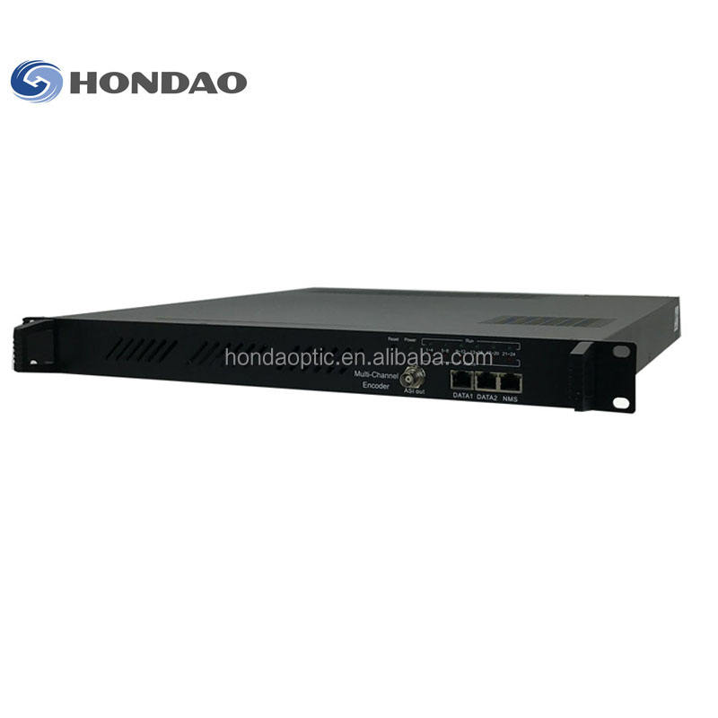 Hondao H.264 H264 16 Enam Belas Channel HDMI HD Video 1080 P MPEG4 Encoder untuk IPTV Streaming Rack Server Penyedia