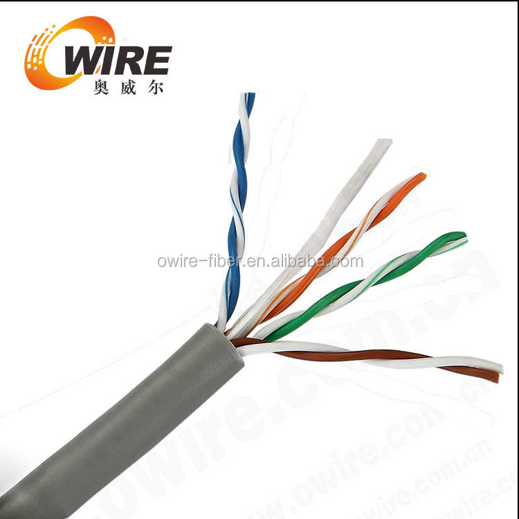 UTP/FTP/SFTP CAT5E BC/CCA/CCS Connecting Cable 305m/Box