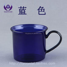 Wholesale High Quality Colored Borosilicate glass coffee cup
