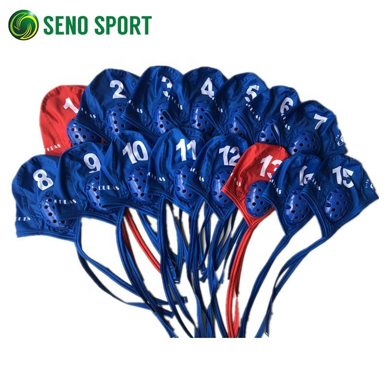 Good Quality Water Polo Swim WP Caps For Adult