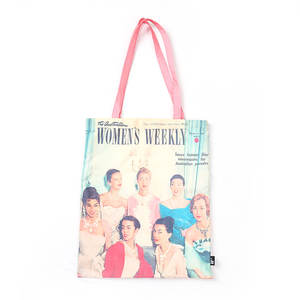 Poliestere costume shopping bag in carrello originale