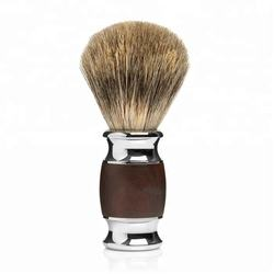 High quality silvertip badger hair shaving brush