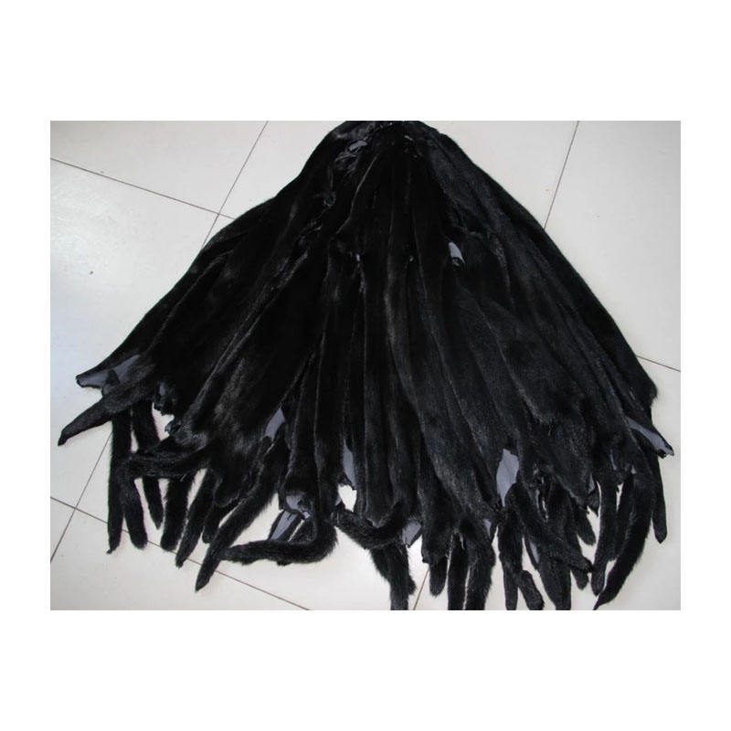 Raw Mink fur skins for Garment mink fur skin for Collar natural mink fur skin price