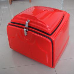New popular design fiberglass delivery box for motorcycle