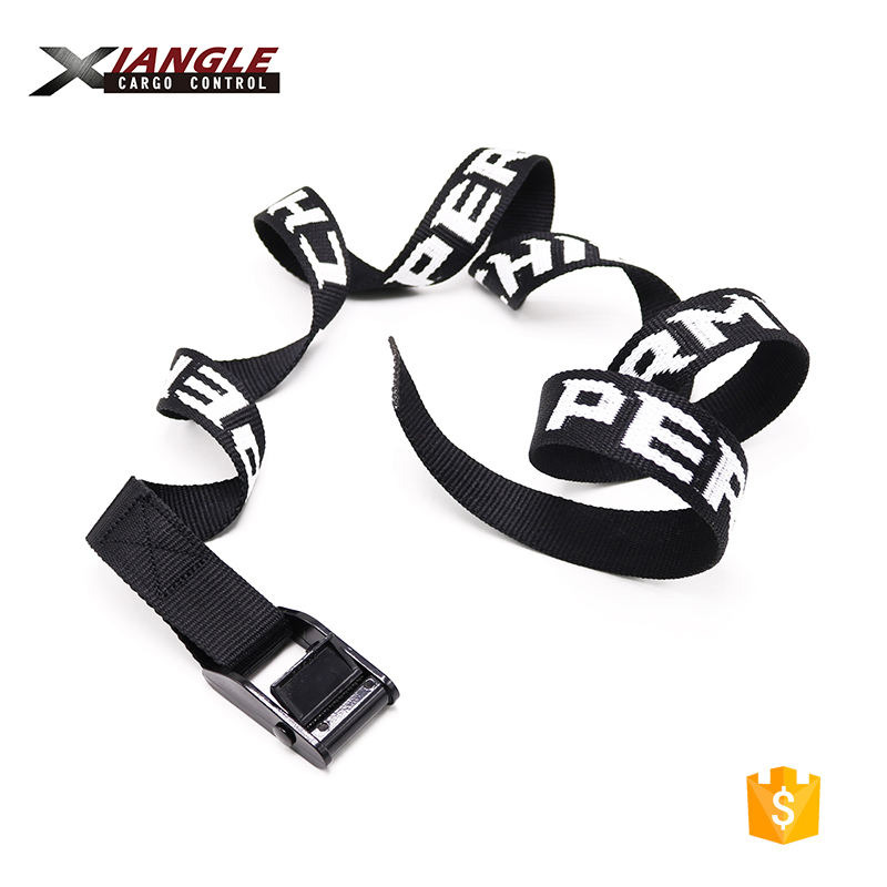 1 Buckled Straps 25mm Cam Buckle 1.5 meters Long Heavy Duty Load Yellow 250kg