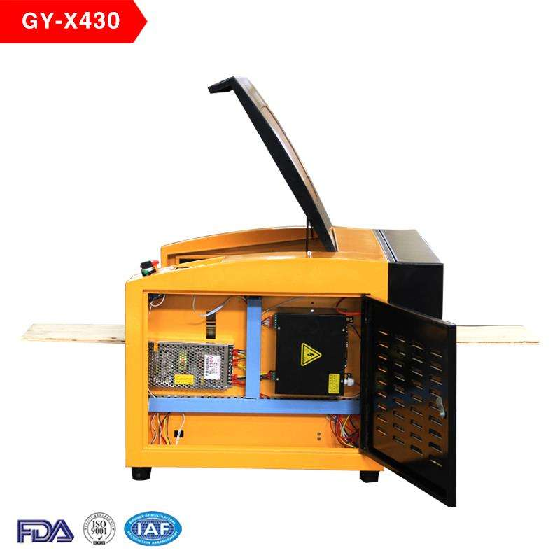 400*300mm 50w co2 laser engraving and cutting machine/laser engraving machine pen