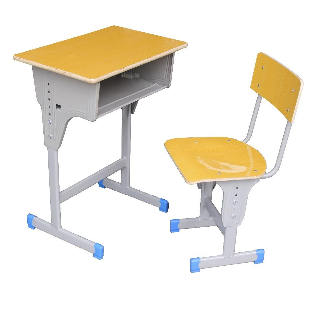 adjustable school furniture cheap student desk and chair