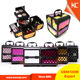 Small Colorful ABS Cheap Hard Case Makeup Tool Box Beauty Box Vanity Case With Multilayer trays