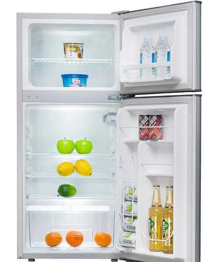 Refrigerator And Freezer Hot Selling Upright Double Door Fridge Freezer Bcd-127