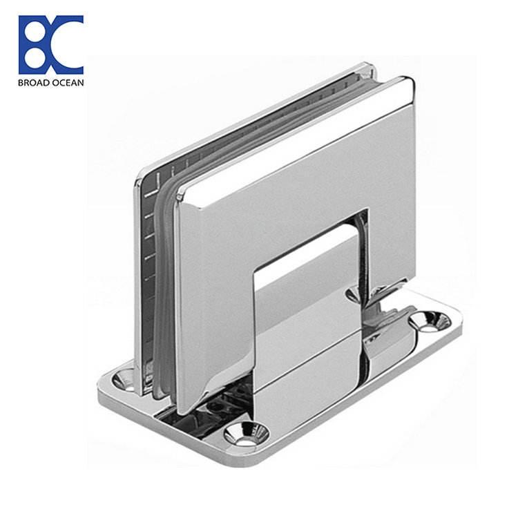 Chinese factory Zinc alloy 304SS stainless steel bathroom glass shower hinge,glass clamp(WL-8101)