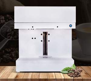 2019 new coffee printer 3d printing cappuccino latte can print any photo selfie art for cafe restaurant