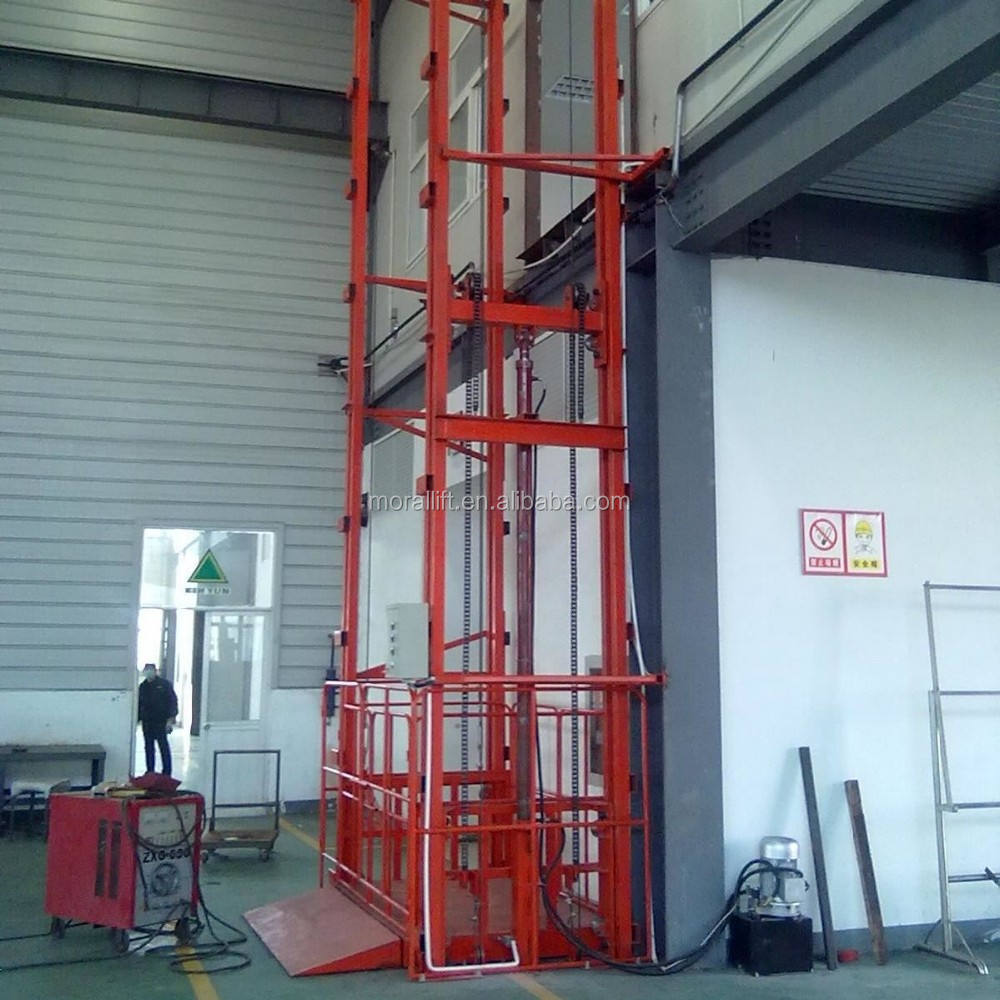 vertical material lift system