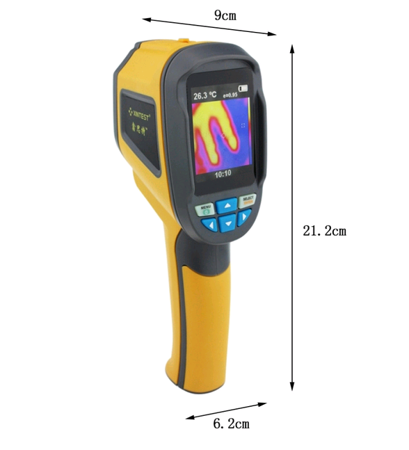 High Definition factory price thermal imaging camera widely used in industrial ,medical archaeological tansprt