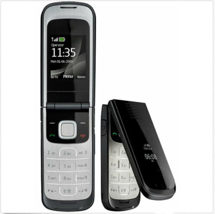Flip Mobile Phone 2720 fold Unlocked mobile cellphone with Original Screen FM Flip phone mobile