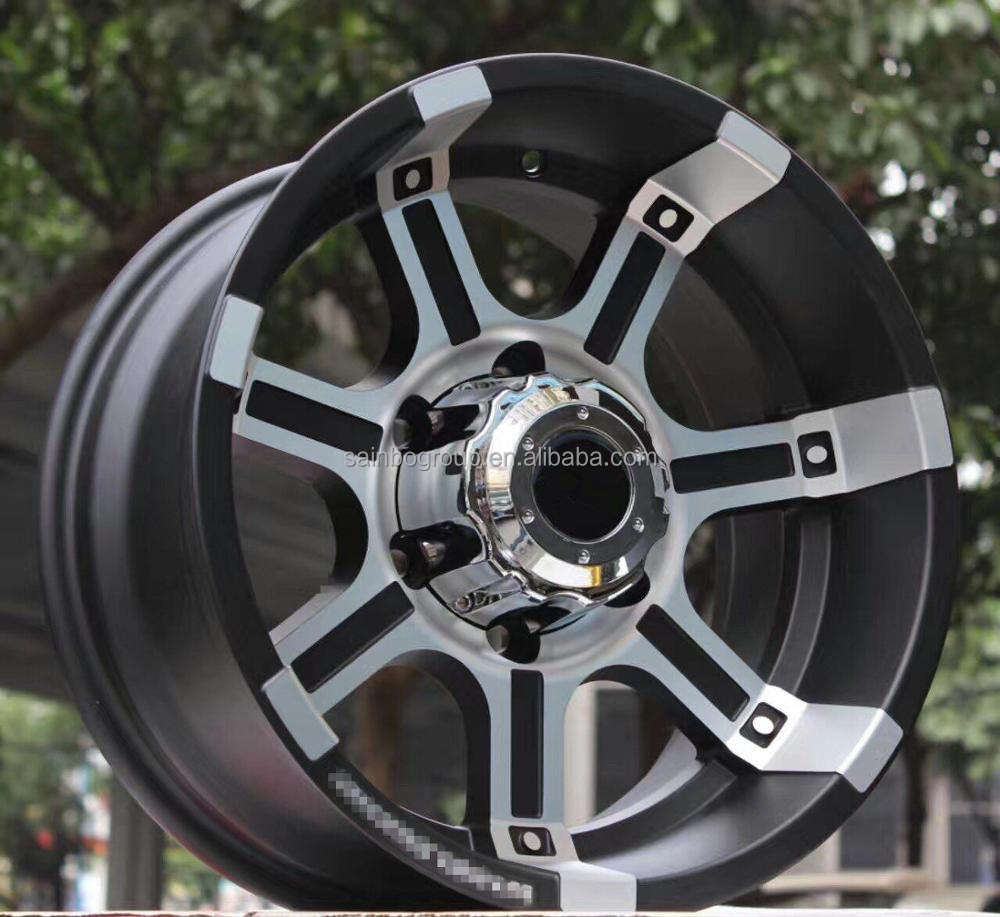Alloy Top Quality Custom New Design Aluminium Alloy Wheel For SUV Car F17090608