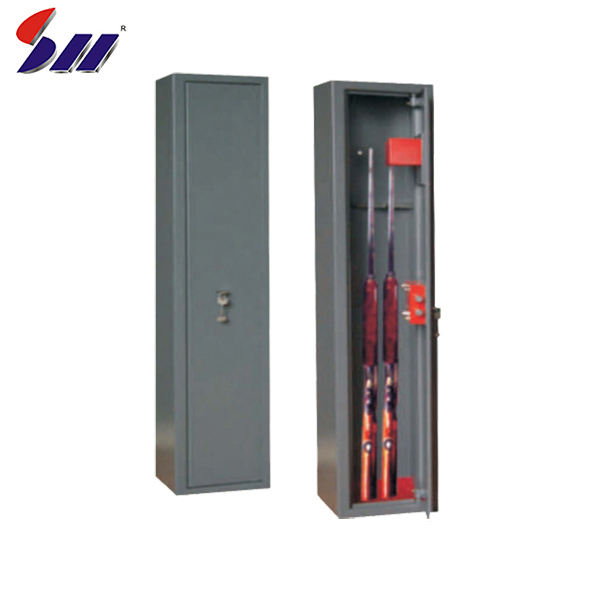 320x200x1320mm Internal security mechanical steel weapon army gun cabinet with 6 double-bitted key