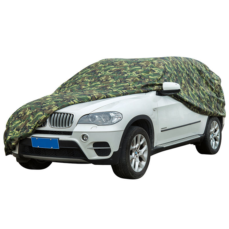 UV protector PEVA & PP cotton camouflage auto smart full set canvas car cover