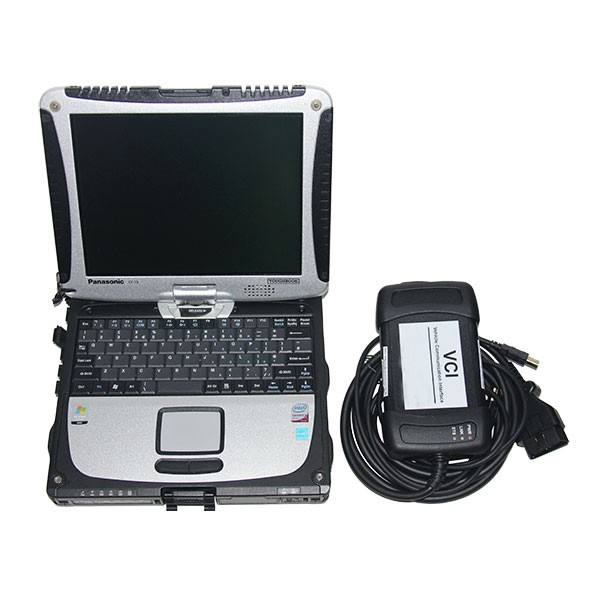 for JLR diagnostic scanner tool ,JLR SDD diagnostic and J2534 programming with CF19 TOUCHSCREEN LAPTOP auto diagnostic scanner