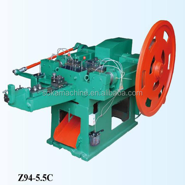 New type Low price Best Quality steel wire nail making machine in China