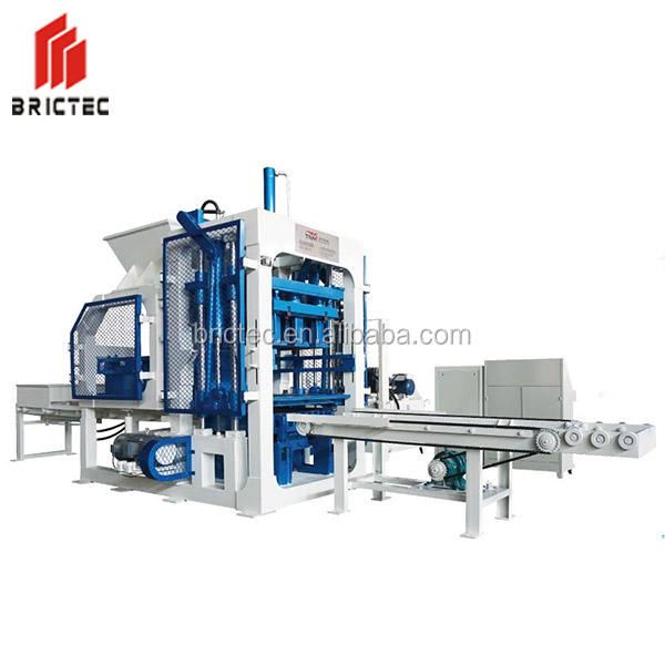 Good performance automatic concrete block paver machine