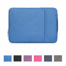 Various Color Laptop Canvas Sleeve Handle Bag Covers for Macbook 15.6 inch