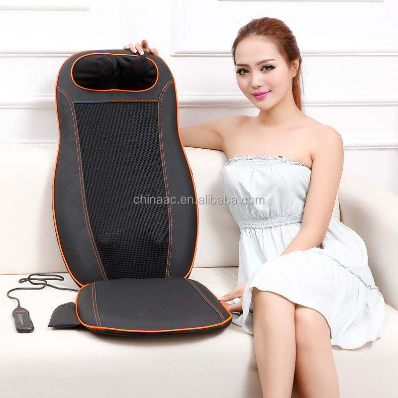 shiatsu neck and back massage cushion massage mat