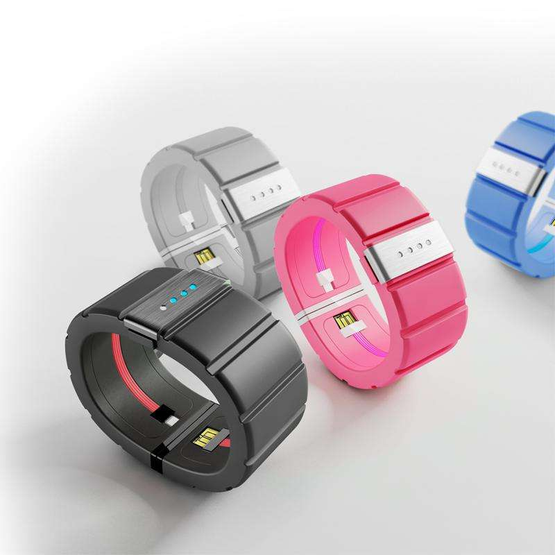 Warna-warni Wearable Mobile Power