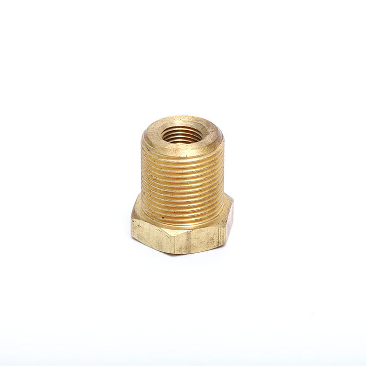 OEM & DOM customized factory hexagonal fitting part fastener forged brass quick coupling