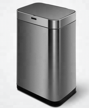 15 Gallon office smart bin automatic dustbin sensor trash can