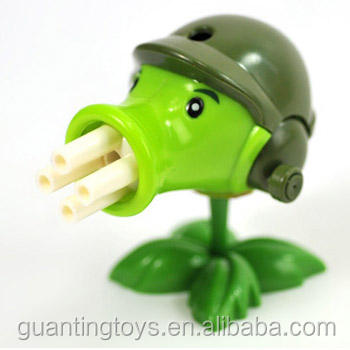 Plant vs Zombie OEM toy, Plant vs Zombie pea shooter toy, Plant vs Zombie Figurine