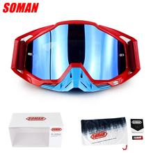 Motocross off road  goggle  motorcycle glasses Soman SM11
