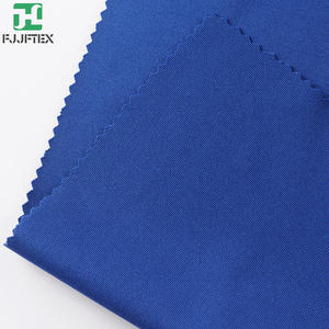 Cheapest 92 polyester 8 spandex interlock thick fabric stretchable pants fabric