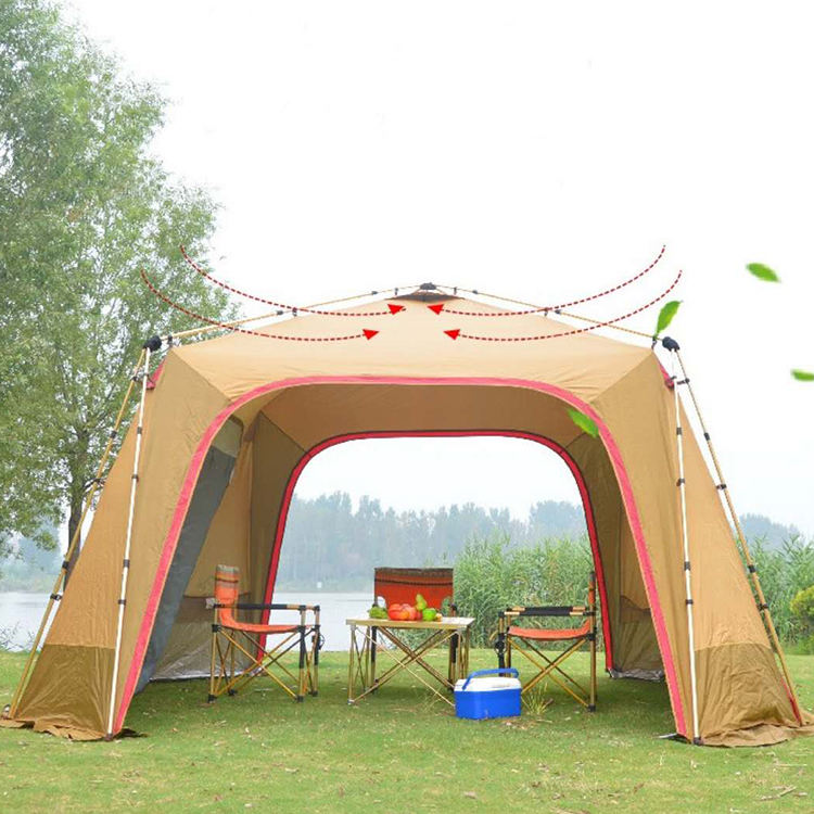 2-4 Person automatic outdoor waterproof luxury tent camping