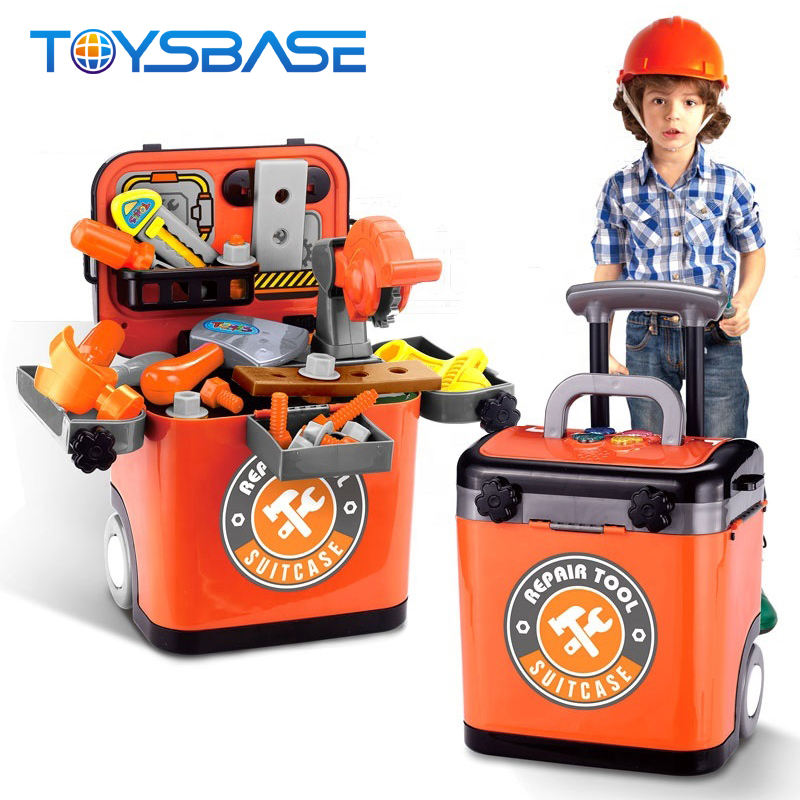 Good Quality Trolley Toy Repaiar Pretend Play Tool Set