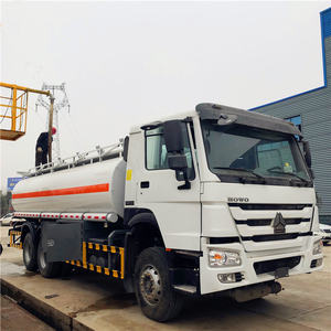 SINOTRUK Howo 6x4 20000 Liters Mobile 연료 Tanker 트럭 6000 갤런의 Oil Delivery 트럭