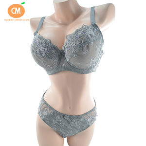 Customized E F H Plus Size Embroidery Sexy Boob Bra Underwear, Cheap Soft Cup Bra Without Pad