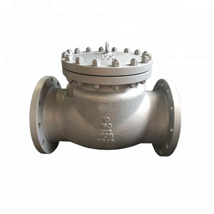 10 Inch DN250 150LB Bolted Bonnet Carbon Steel A216 WCB Body Monel Trim Flange Swing Check Valve Non Return Valve