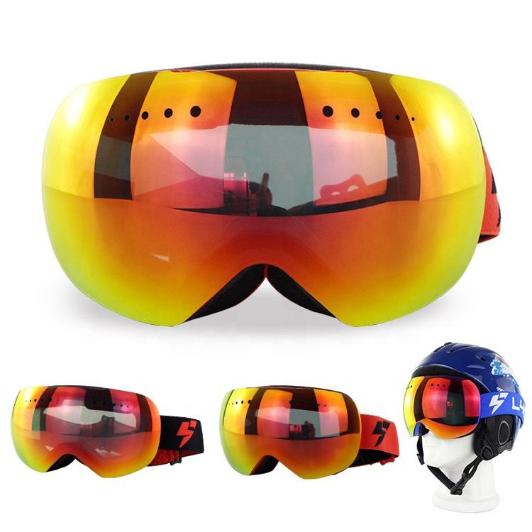 Anti Fog And Anti Uv Ski Goggles Over Glasses UV400