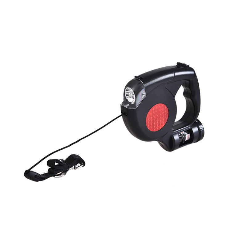 Hot-bán Retractable Auto Led Light Pet Dog Leash Với Poop <span class=keywords><strong>Túi</strong></span>