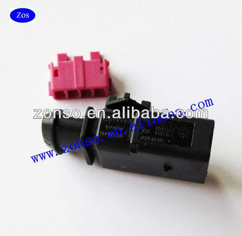 1k0973804 1k0 973 804-4 Pin Sellado Macho Jpt Conector Kit Vw Audi Vag